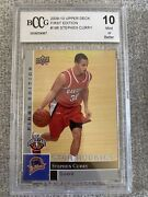 2009-10 Upper Deck First Edition Stephen Curry Rookie Card