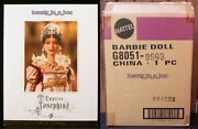 Empress Josephine Barbie Doll Women Of Royalty Series Gold Label Shipper Exc