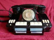 Vintage Old Beautifull Small Black Digital Antique Telephone Home Decoration