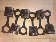 Chevrolet 1955 235 Six Cylinder Rods And Pistons Matched Set