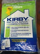 For Kirby Vacuum Bags6 Sentria Universal F Style Micron Magic Hepa White Cloth