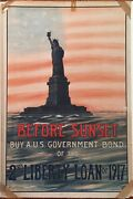 7 Original World War 1 Posters Hung In Camp Taylor Training Camp Louisville Ky
