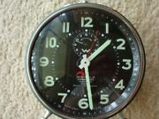Antique German Alarm Clock. Was Designed And Produced For Military U- Boat Patrol.