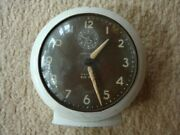 Antique American Desk Alarm Clock, Made In Usa. In Good Working Order