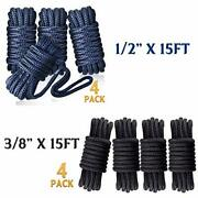 Dock Lines For Boat Double Braided Naylon Boat Rope Marine Mooring Rope With ...