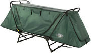 1-person Folding Camping Tent Cot Outdoor Waterproof Hiking Bed Carry Bag 330lbs
