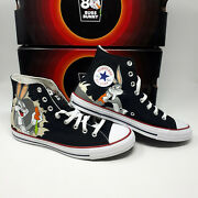 New Converse Bugs Bunny Chuck Taylor All Star Hi 169225c Shoe Sneaker Menand039s Size