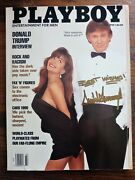 Rare Best Wishes Donald Trump Signed And03990 Playboy Magazine Beckett Us President