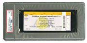 10/16/2003 Cleveland Cavs At La Lakers Ticket Psa 9-lebron James 1st Game In La