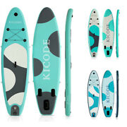 Inflatable Paddle Board Sup Surfboard 6 Thick Premium + Accessories And Carry Bag