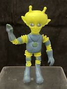 Vintage 1968 Alien Alpha 7 Figure The Man From Mars Outer Space Bendy Colorforms