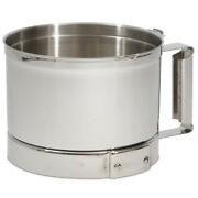Robot Coupe Stainless Steel Bowl For Robot Coupe R2n P311