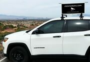 Vehicle Video Display Unit Ultrawide Hd Quality With Media Player And Power Supply