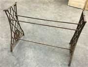 Treadle Sewing Machine Cast Iron Base Industrial Age Singer Steampunk Ox