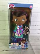 Disney Store Exclusive Doc Mcstuffins Singing And Talking Pet Vet Doll Toy New