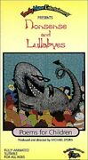 Nonsense And Lullabies Poems For Children [vhs] [vhs Tape] Sealed