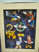 Disney 2000 Millennium Mickey Mouse Storybook Collection Christmas Ornaments