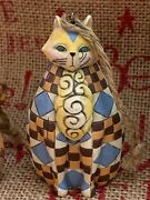 Enesco Jim Shore Heartwood Creek Set Of 3 Cats With Quilt Pattern