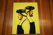 The Cooks Breaking Bad Signed Art Print By Mike Mitchell - 36/50