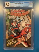 The Amazing Spider-man 101 Cgc 7.0 1971 White Pages 1st Appearance Of Morbius