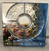 Colony Crafts Crystal Garden 12 4502 5 Part Relish Server Dish In Box