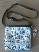 Harveys Seatbelt Bag Mickey Mouse Steamboat Willie Small Messenger Bag Charms