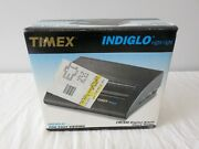 Timex Indiglo Night-light Fm Am Digital Alarm Clock Radio Model T422b Brand New