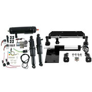 Electric Center Stand Air Ride Suspension Tank Fit For Harley Touring Flhr 17-21