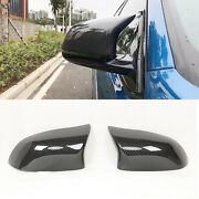 For Bmw X3 F25 X4 F26 X5 F15 X6 F16 Carbon Fiber Side Mirror Cover Caps M Style