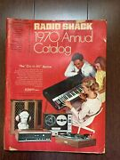 Radio Shack 1970 Annual Catalog 128 Pages Of Color/black/white Time Capsule