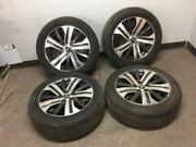 20 Mitsubishi Outlander Sport Wheel And Tire Continental 225/55r18 18x7 Set Of 4 Z
