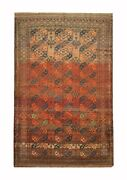 Antique Rugs Handmade Carpet Traditional Oriental Wool Red 212x318cm