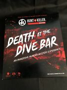 Hunt A Killer Death At The Dive Bar, Immersive Murder Mystery Game,ages 14+