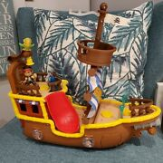 Fisher-price Disney Jake And The Neverland Pirates Bucky Musical Pirate Ship