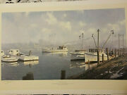 John M Barber Print Returning Home Limited Edition, Numbered, Free Shipping