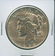 1922 S Peace Dollar Us Mint Coin Pq Silver Coin Better Date 1922-s Bu Ms+++