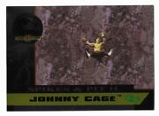 1994 Classic Mortal Kombat Series 2 Spikes And Pit Ii Johnny Cage Sp7 Rare