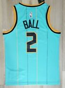 New Lamelo Ball Menand039s City Edition Jersey Charlotte Teal Swingman 2