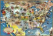 Us Map Puzzle - America History Jigsaw Puzzles 1000 Piece American History Map