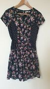 Fat Face Floral Prairie Country Summer Dress Size 8