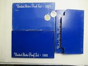 1968 And 1969 And 1970 Us Mint Proof Sets Silver Kennedyand039s 2