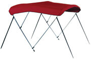 3 Bow Bimini Top Frame Only 54 High-6and039l X 54h X 73-78w