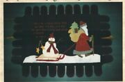 Hitching A Ride Wall Quilt Pattern Hanging Or Table Topper Wool Santa And Snowman