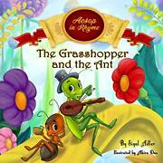 The Grasshopper And The Ant Aesop's Fables In Verses Children's Story Pictu…