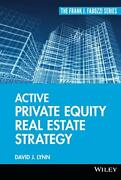Active Private Equity Real Estate Strategy By Lynn David J. Hardcover