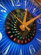 Electric Signboard 60and039s Rolex Wall Clock Antique Retro Rare From Japan U947