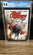 Young Avengers 1 Directors Cut Cgc 9.8 1st Kate Bishop Wiccan Patriot Iron Lad