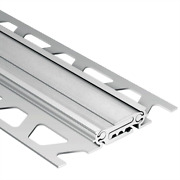 Dilex Bt Satin Anodized Aluminum 1 2 In. X 8 Ft. 2 1 2 In. Metal Movement Joint