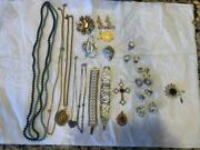 Vintage Sarah Coventry Jewelry Lot Necklace Pins Earrings Bracelets Rings