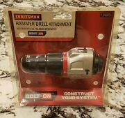 Craftsman Bolt On 2-speed Hammer Drill Attachment 34975 - New In Package